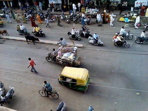 Auto-rickshaws