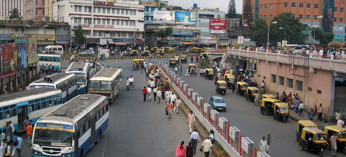 Mass transport in Bangalore, India  | WRI Ross Center for