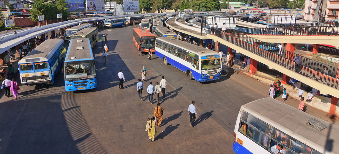 Bangalore BIG bus network. Photo by Noppasin/Shutterstock.