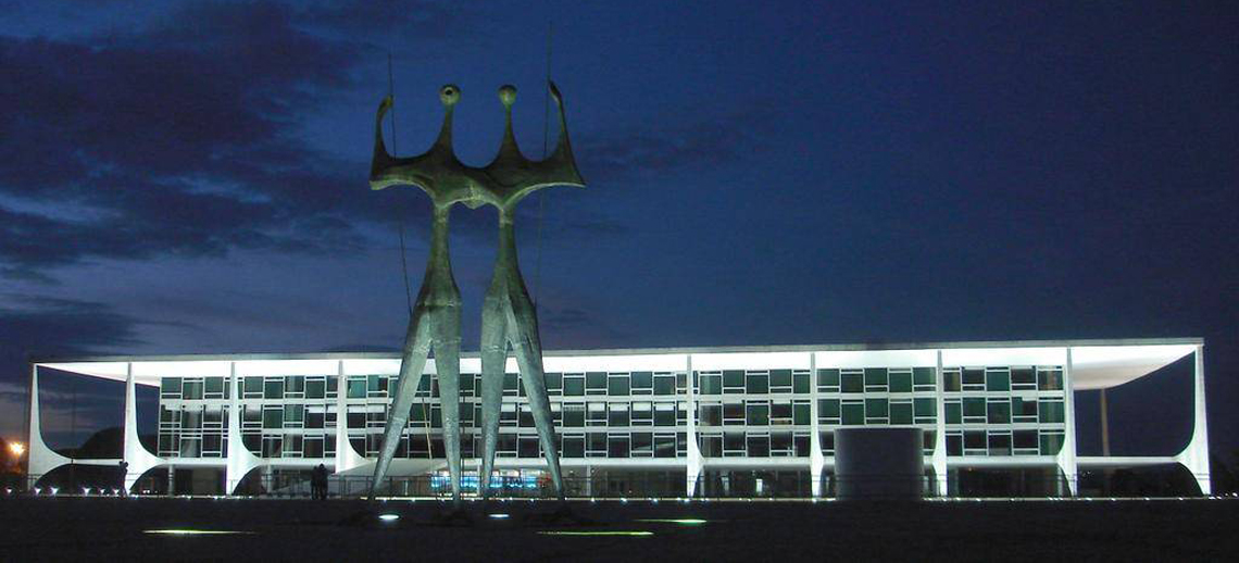 Palácio do Planalto, Brasília, Brazil. Photo by swperman/Flickr.