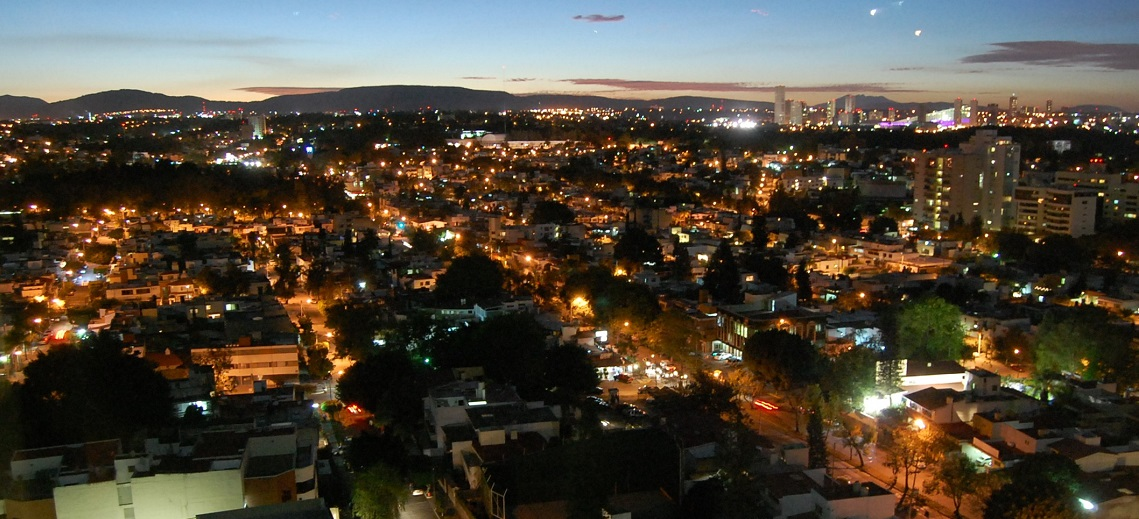 Sunset over Guadalajara, Mexico. Photo by Emerson Posadas/Flickr.