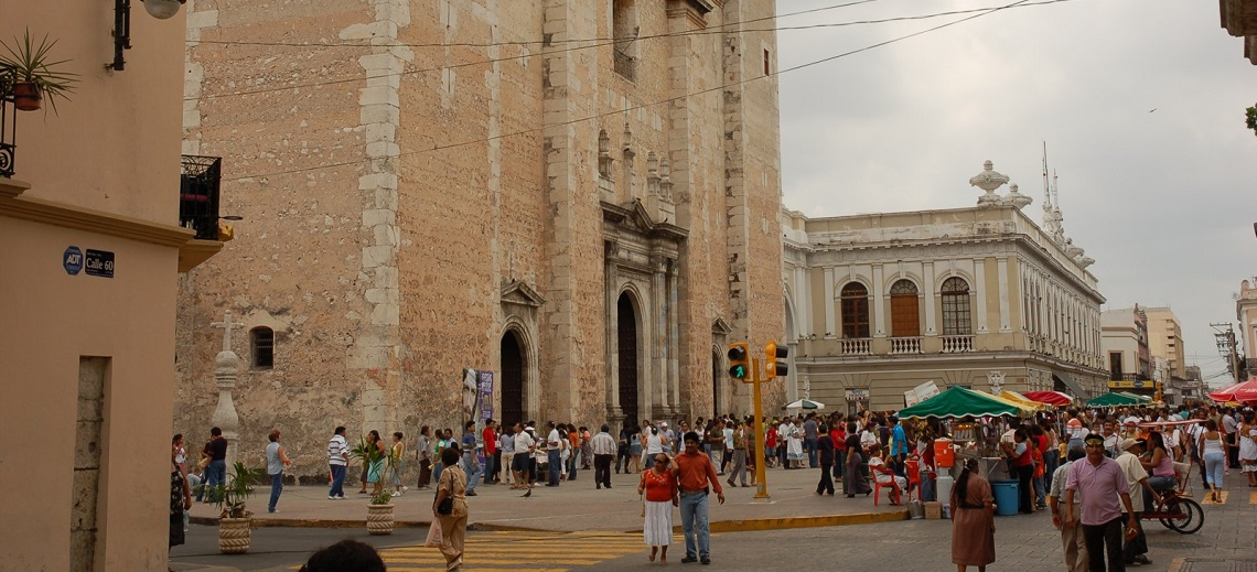 Merida, Mexico. Photo by Rob Hyndman/Flickr.