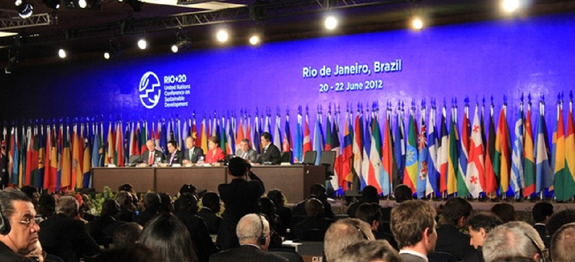 Rio+20 United Nations Conference. Photo by Peachie Aquino-Reed/UN ISDR. Enlarged and cropped.
