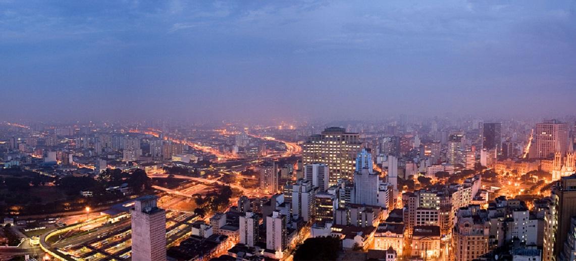 Skyline of São Paulo, Brazil. Photo by Fernando Stankuns/Flickr.