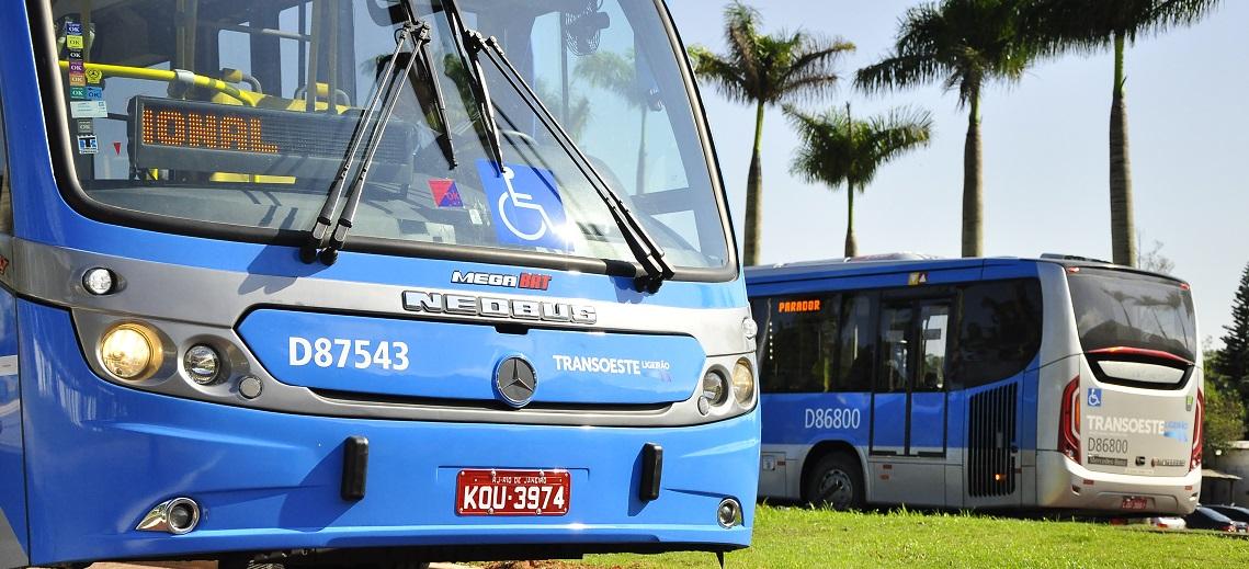 TransOeste buses in Rio de Janeiro, Brazil. Photo by Mariana Gil/EMBARQ Brazil.