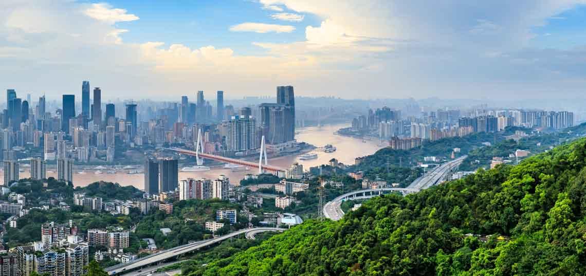 Cityscape in Asia