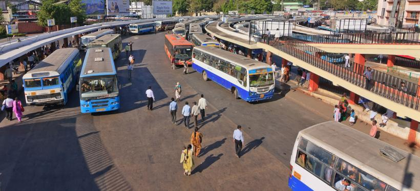 Bangalore BIG bus network. Photo by Noppasin/Shutterstock.