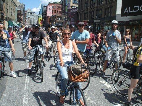 New York City bike riders