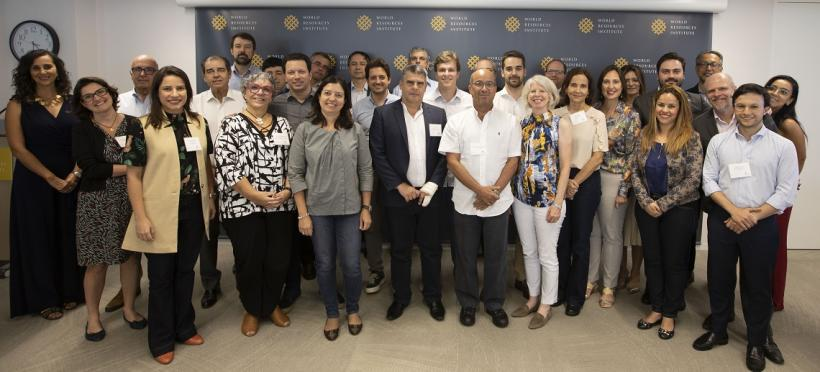 Brazilian State and City Leaders Visit World Resources Institute, Discuss Collaboration on Sustainable Cities