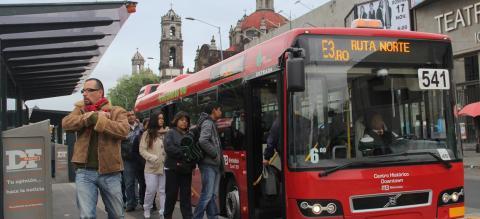Línea 4 de Metrobús, Mexico City. Photo by EMBARQ Mexico.