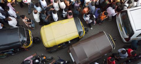 Traffic in Mumbai, India. Photo by EMBARQ.