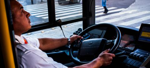 Safe driving on Mexico City's Metrobús
