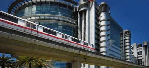 Singapore Mass Rapid Transit (MRT) System. Photo by Williamcho/Flickr.