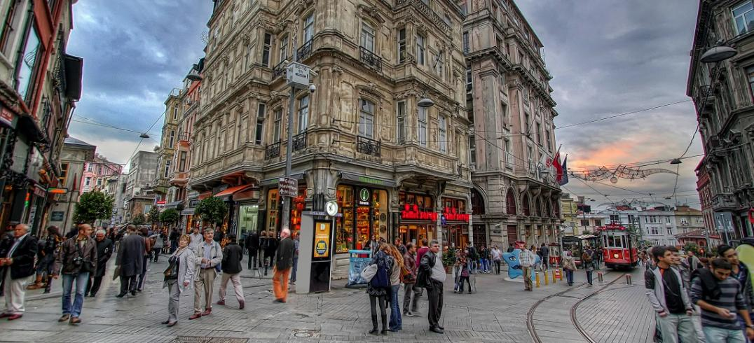 Istiklal Avenue - Istanbul, Turkey. Photo by Mehmet Aktugan/Flickr.