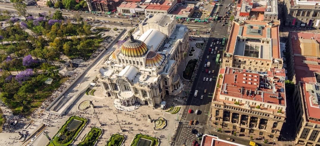 Palacio de Bellas Artes, Mexico City. Photo by Jess Kraft/Shutterstock.