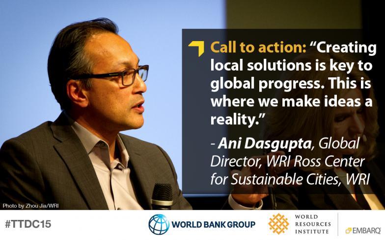Ani Dasgupta, World Resources Institute, Transforming Transportation 2015